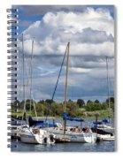 Marina - Branched Oak Lake Spiral Notebook
