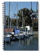 Marina Del Rey California 2 Spiral Notebook