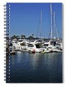 Marina Del Rey California Spiral Notebook