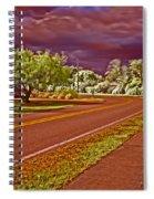 Marina Drive Holmes Beach Spiral Notebook