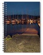 Marina Nightlights Spiral Notebook