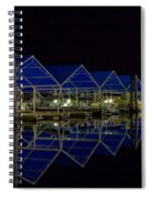 Marina Reflected Spiral Notebook