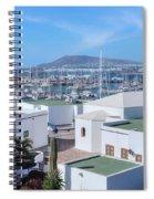 Marina Rubicon - Lanzarote Spiral Notebook