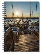 Marina Sunrise Spiral Notebook