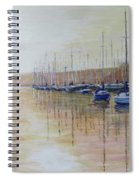 Marina Sunset Spiral Notebook