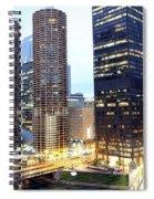 Marina Towers Spiral Notebook