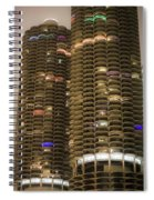 Marina Towers Spiral Notebook