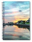 Marina Walk To Hemingway's Spiral Notebook
