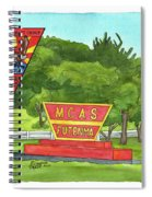 Marine Aircraft Group At Mcas Futenma Spiral Notebook