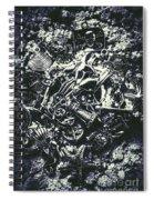 Marine Elemental Abstraction Spiral Notebook