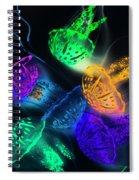 Marine Glow Spiral Notebook