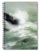 Marine Storm Sea 1911 Spiral Notebook
