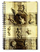 Marine Theme Spiral Notebook