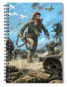 Marines In The Pacific Spiral Notebook