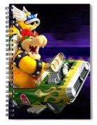 Mario Kart Wii Spiral Notebook