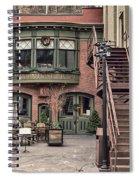 Marion Hose Bar Spiral Notebook
