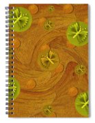 Mariposa In Colors Spiral Notebook