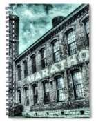 Marithon Car Manufacturing Facility In Nashville Spiral Notebook