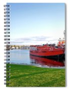 Maritime Springtime Spiral Notebook