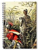 Marius Discovered In The Marshes At Minturn Spiral Notebook