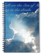 Mark 13 26 Spiral Notebook