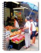 Market At Bensonhurst Brooklyn Ny 1 Spiral Notebook