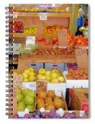 Market At Bensonhurst Brooklyn Ny 11 Spiral Notebook