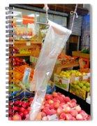 Market At Bensonhurst Brooklyn Ny 3 Spiral Notebook