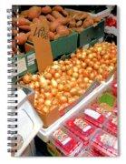 Market At Bensonhurst Brooklyn Ny 4 Spiral Notebook