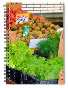 Market At Bensonhurst Brooklyn Ny 5 Spiral Notebook