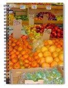Market At Bensonhurst Brooklyn Ny 7 Spiral Notebook