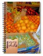 Market At Bensonhurst Brooklyn Ny 8 Spiral Notebook