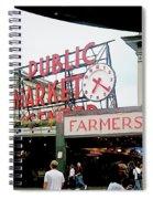 Market Closeup Spiral Notebook