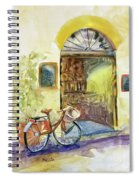 Market Day In Lucca Spiral Notebook