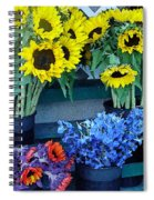 Market Fresh In Watercolor Spiral Notebook