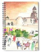 Market In Teguise In Lanzarote 02 Spiral Notebook