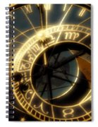 Marking Time Spiral Notebook