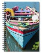 Marley Rowboat Rodney Bay Saint Lucia Spiral Notebook