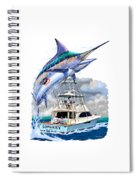 Marlin Commission  Spiral Notebook