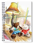 Marlon Blanco And Truffle Mcfurry In Whitby Spiral Notebook