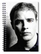 Marlon Brando Portrait #1 Spiral Notebook