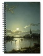 Marlow On Thames Spiral Notebook