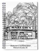 Marlows Market Spiral Notebook