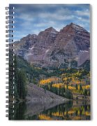 Maroon Bells Colorado Dsc06628 Spiral Notebook