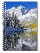 Maroon Lake And Bells 2 Spiral Notebook
