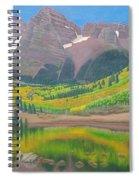 Maroon Lake Spiral Notebook