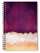 Maroon Ocean Spiral Notebook