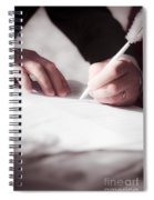 Marriage Certificate Spiral Notebook