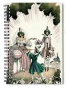 Marriage Of Candide Spiral Notebook