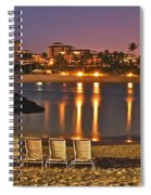 Marriott Lagoon Spiral Notebook